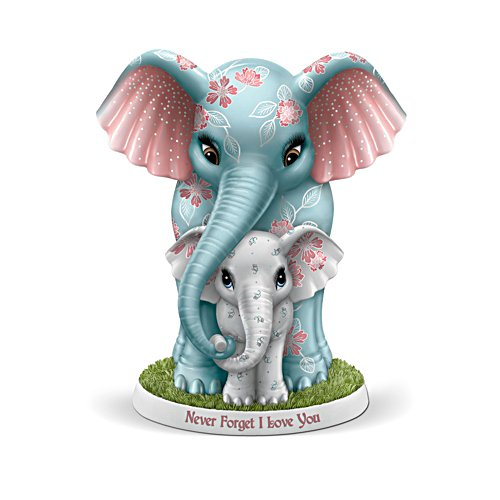'Never Forget I Love You' Elephant Figurine