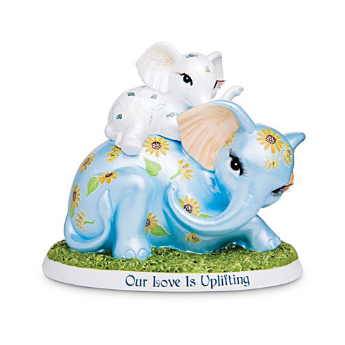 'Unforgettable Love' Elephant Figurine