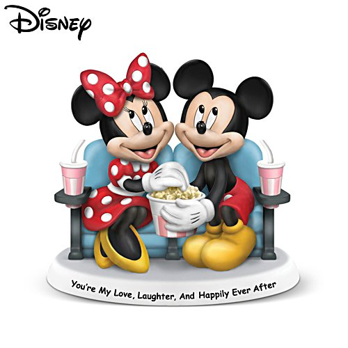 Disney Mickey Mouse & Minnie Mouse 'You're My Love, Laughter, And Happily Ever After' Figurine