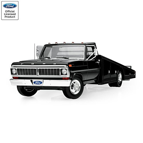 1:18-Scale 1970 Ford F-350 Diecast Ramp Truck