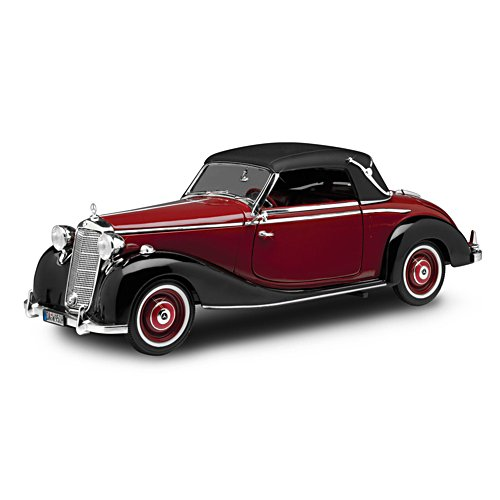 1:18-Scale 1950 Mercedes 170S Cabriolet Die-Cast
