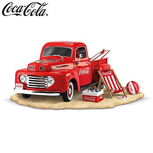 COCA-COLA® 'Refreshing Fun In The Sun' Ford Truck Sculpture