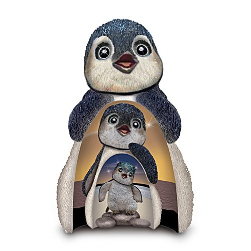 'Dive Into Life' Nesting Penguins Figurine Set