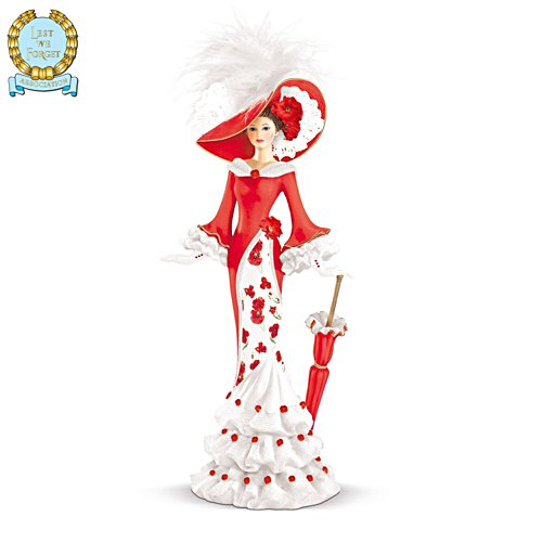 'Vision Of Remembrance' Poppy Figurine