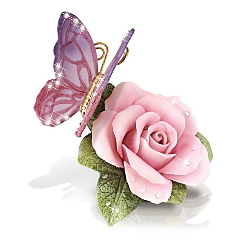 'New Dawn Rose' Heirloom Porcelain® Ornament