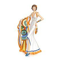 'Art Deco Diva' Clarice Cliff Art Figurine