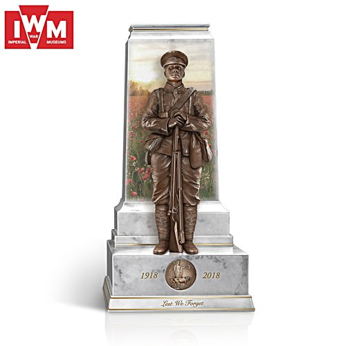 'Lest We Forget' First World War Armistice Centenary Sculpture