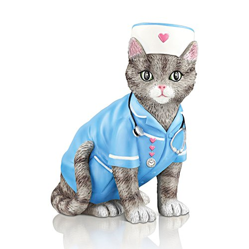 'Purr-fect Compassion' Cat Figurine