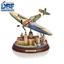 'Supermarine Spitfire' 80th Anniversary Sculptural Aircraft