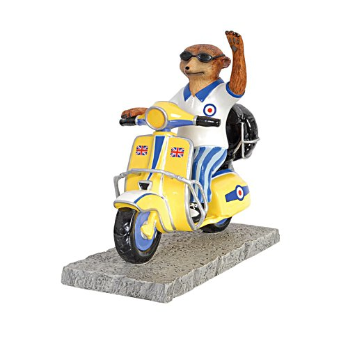 'Sonny Afternoon' Meerkat Scooter Model