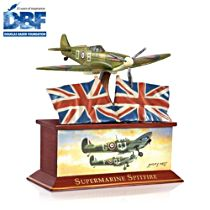 'Wings Of Victory' Spitfire Fighter Bronzed Sculpture