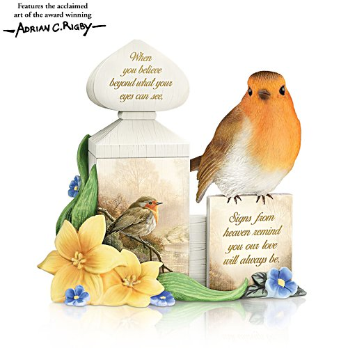 'Our Love Will Always Be' Sculpted Robin Figurine