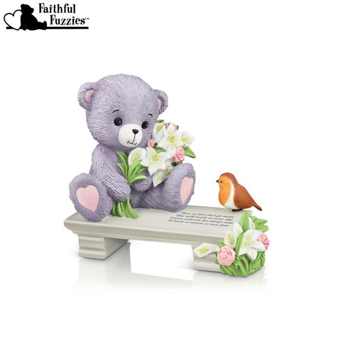 'A Love So Dear' Faithful Fuzzies® Robin Figurine