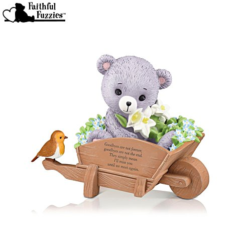 'Goodbyes Are Not Forever' Faithful Fuzzies® Robin Figurine