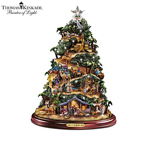 Thomas Kinkade Nativity 'Glory To The Newborn King' Tree