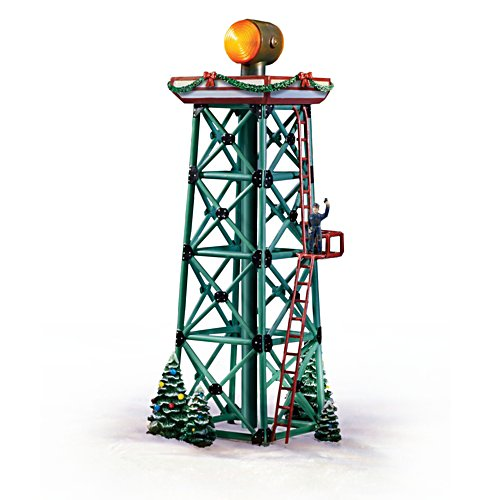 'Aircraft Beacon Tower' For HO-scale Train Display