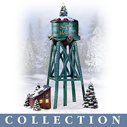 'Holiday Tower' Train Accessory Collection