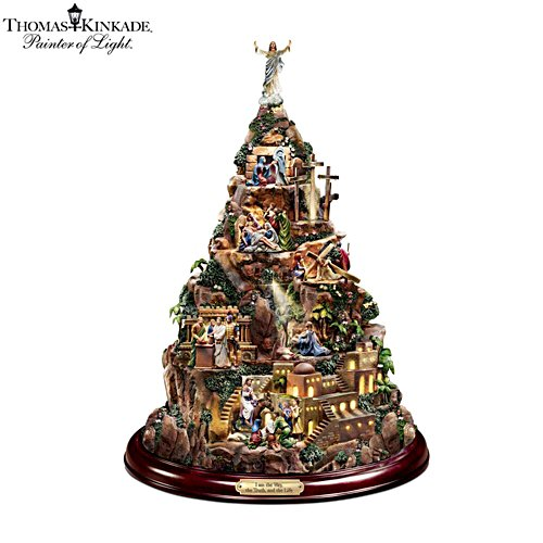 Thomas Kinkade 'Faith Mountain' Home Décor