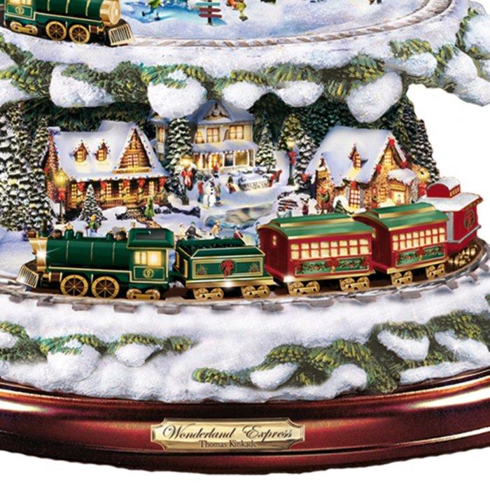 Thomas The Train Christmas.Thomas Kinkade Wonderland Express Christmas Tree