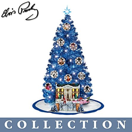 'Happy Holidays From Graceland™' Christmas Tree Collection
