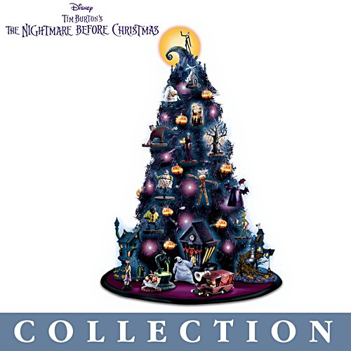 'Nightmare Before Christmas' Tabletop Tree Collection