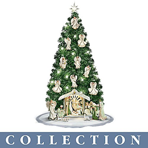 'Emerald Elegance' Christmas Tree Nativity Collection