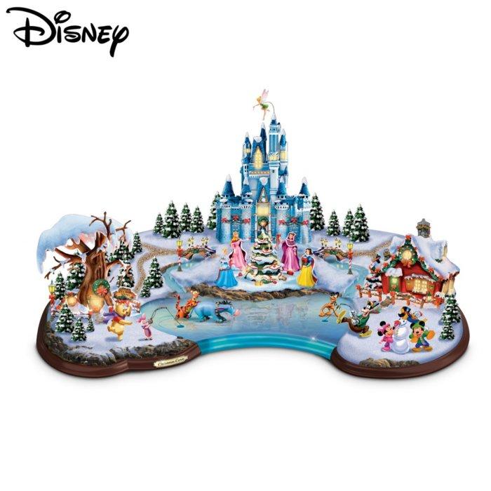 Disney Christmas Tree.Disney Christmas Cove Sculpture
