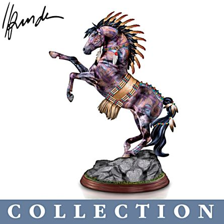 'The Spirit Of The Painted Pony' Sculpture Collection