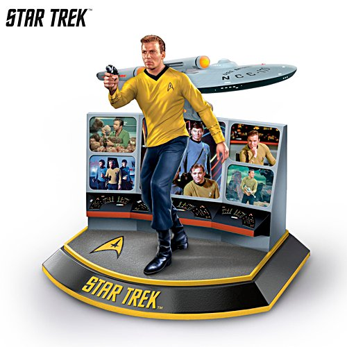 STAR TREK™ 'Captain James T. Kirk' Sculpture