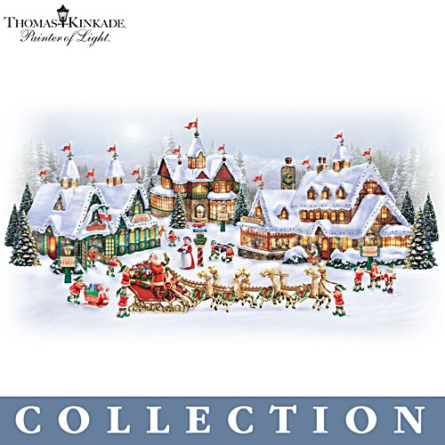 Thomas Kinkade 'North Pole' Village Collection