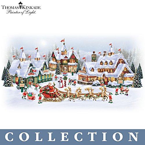 Thomas Kinkade 'North Pole' Village Collection