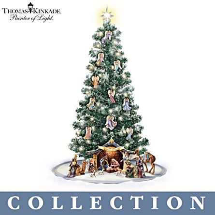Thomas Kinkade 'Blessed Nativity' Christmas Tree Collection
