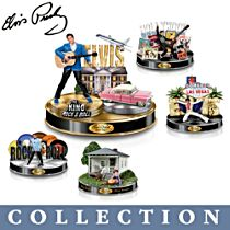 'Life Of Elvis Presley™' Tribute Sculpture Collection