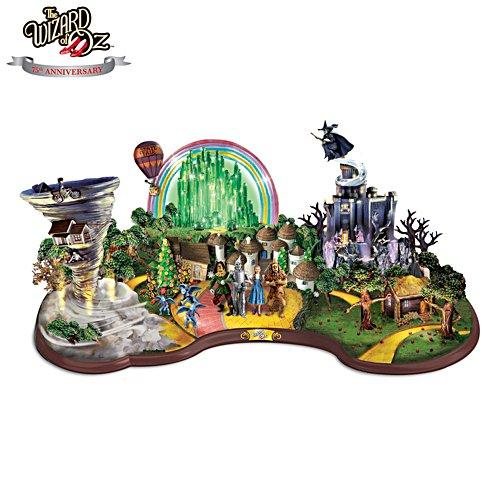 Der Zauberer von Oz — Beleuchtete Panorama-Skulptur
