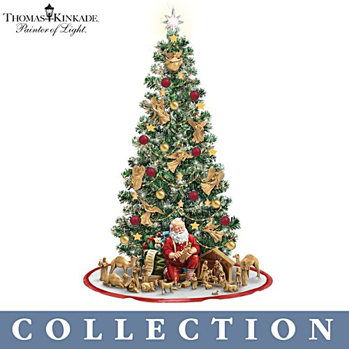 'True Meaning Of Christmas' Pre-Lit Nativity Tree Collection