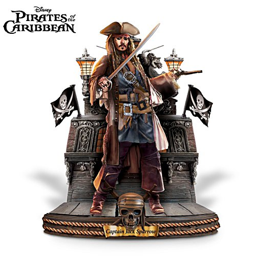 Disney 'Captain Jack Sparrow' Pirates Of The Caribbean Sculpture