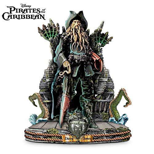 Disney 'Captain Davy Jones' Pirates Of The Caribbean Sculpture