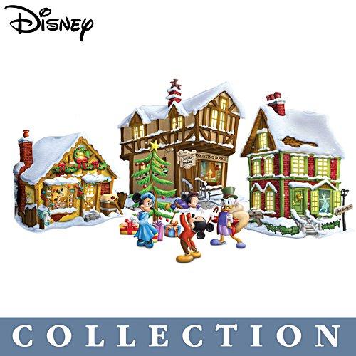 Disney Mickey Mouse's Christmas Carol Village Collection