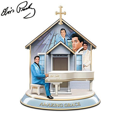 Elvis Presley™ 'How Sweet The Sound' Musical Sculpture