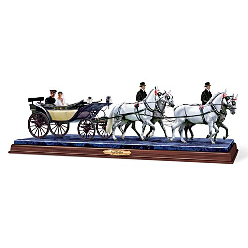 'Dreams Come True' Carriage Masterpiece Sculpture