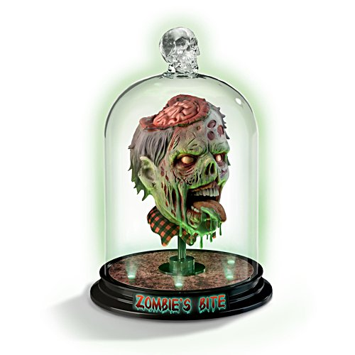 'Zombie's Bite' Horror Head Sculpture