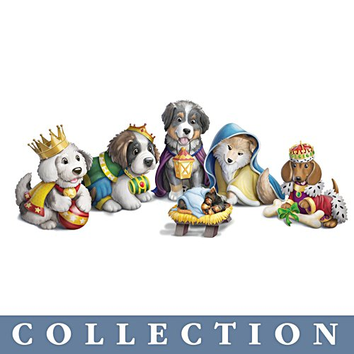 'Happy Howl-idays' Dog Figurine Collection