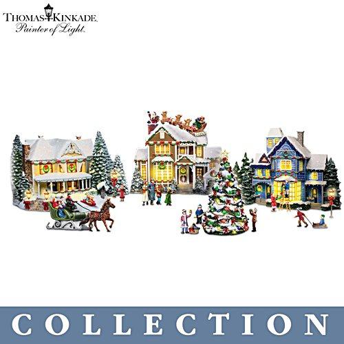 Thomas Kinkade 'Sounds Of The Season' Village Collection