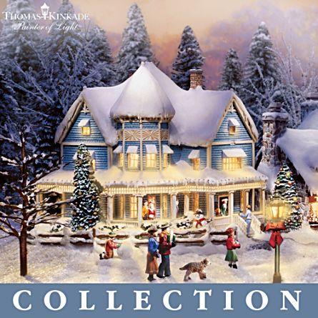Thomas Kinkade 'Christmas Village' Collection