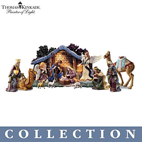 Thomas Kinkade 'Star Of Hope' Nativity Collection