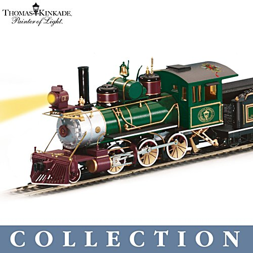 Thomas Kinkade 'Christmas Express' Locomotive Collection