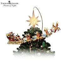 Thomas Kinkade 'Holidays In Motion' Tree Topper