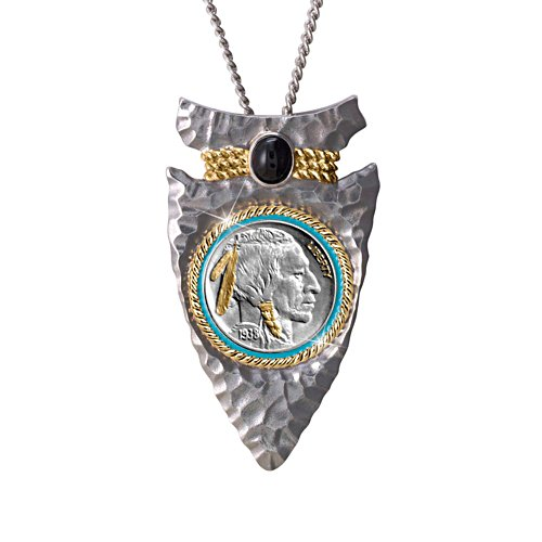 Indian Head Nickel Arrowhead Men's Pendant