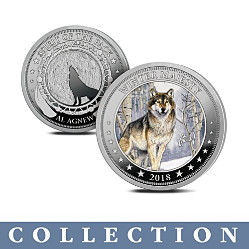 Al Agnew 'The Spirit Of The Pack' Coin Collection