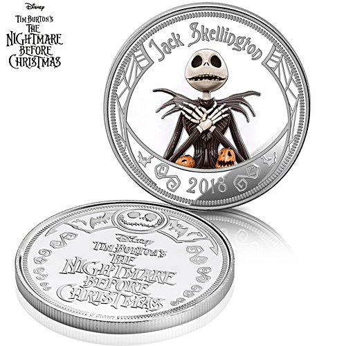 Disney Tim Burton The Nightmare Before Christmas Commemorative Proof